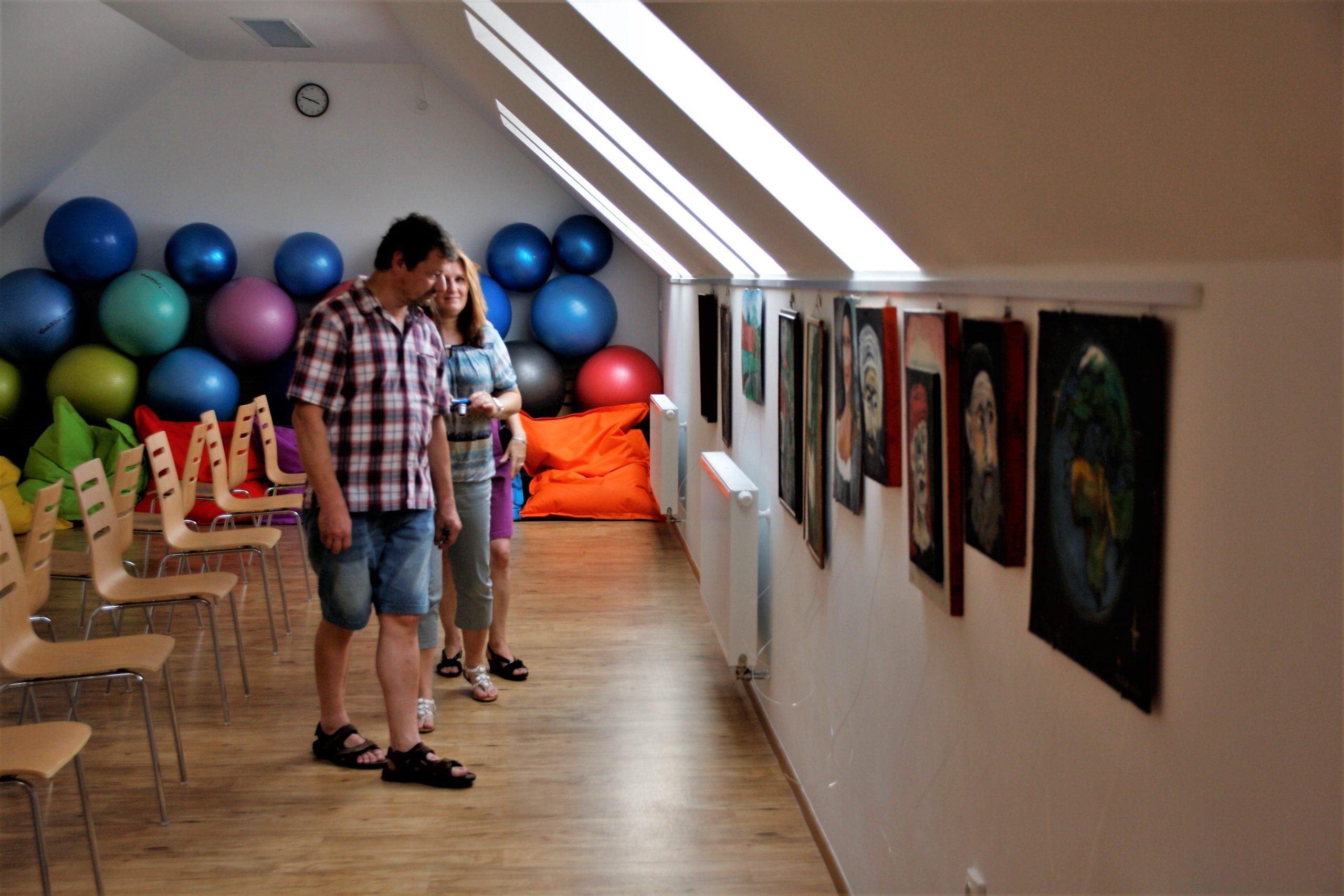 výstava obrazů Miroslava Šantory
